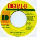 Mad Cobra - Fear No Wicked (Digital B)