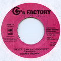 Dennis Brown - Never Can Say Goodbye (G's Factory)