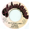 Jigsy King - As It Done Load It Back