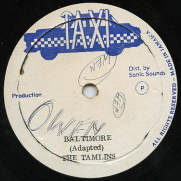 Tamlins, The - Baltimore / Peek A Boo