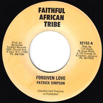 ReggaeCollector com - Patrick Simpson - Forgiven Love