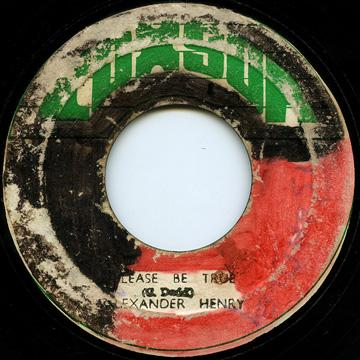 Alexander Henry - Please Be True (Coxsone 2nd)