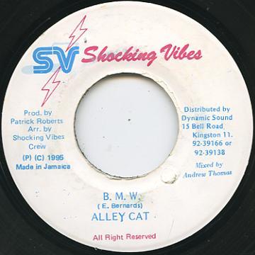 Alley Cat - B.M.W. (Shocking Vibes)