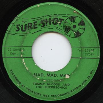 Tommy McCook - Mad Mad Mad (Sure Shot)