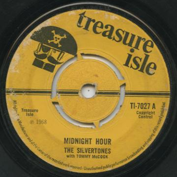 Silvertones Tommy McCook The Supersonics Midnight Hour Soul For Sale
