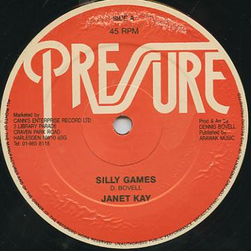 Janet Kay - Silly Games (Pressure UK)