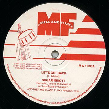 Sugar Minott - Let's Get Back (Mafia & Fluxy UK)
