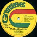 Al Campbell - Style And Fashion (Greensleeves UK)