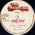 Fred Locks, Bregader Jerry - Love In Harmony (Top Ranking)