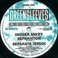Nigger Mikey - Separation; (Separation Version) (Greensleeves UK)