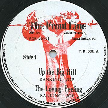 Delroy Wilson, Ranking Joe - Keep On Running; Steel The Show (Front Line)