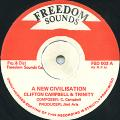 Clifton Campbell, Trinity - A New Civilisation (Freedom Sounds)