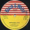 Barrington Levy - How Much Love (Black & White)