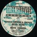 Conrad Crystal, Sheriff - Waan More; Version (Greensleeves UK)