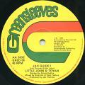 Little John; Toyan - Jah Guide I (Greensleeves UK)