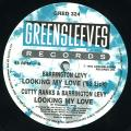 Barrington Levy; Cutty Ranks, Barrington Levy - Looking My Love ('92 Lick); Looking My Love (Greensleeves UK)