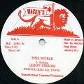 Leroy Sibbles - This World (Wackies US)