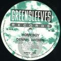 Dennis Brown - Homeboy (Greensleeves UK)