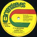 Sammy Levy - It A Go Done (Greensleeves UK)