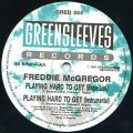 Freddie McGregor - Playing Hard To Get (Bogle Lick); (Instrumental) (Greensleeves UK)