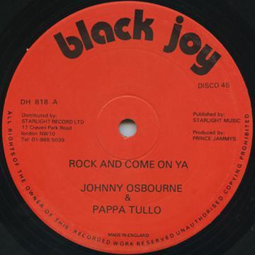 Johnny Osbourne / Papa San* Pappa San - Chain Grabber / Watch Them A Watch