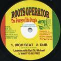 Live Wire, Eari St, Michael - High Seat; Dub; Want To Be Free (Roots Operator UK)