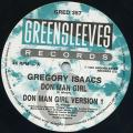 Gregory Isaacs, JC Lodge - Don Man Girl (Greensleeves UK)
