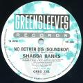 Shabba Ranks - No Bother Dis (Sound Boy) (Greensleeves UK)