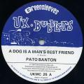 Pato Banton - A Dog Is A Man's Best Friend (Greensleeves UK)
