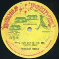 Wailing Souls - Who For Say Is The Best (Rockers Forever US)