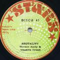 Horace Andy, Massive Dread - Brutality (Stars)