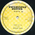 Horace Andy - Don't Say No (Thompson Sound)