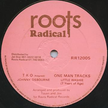 Johnny Osbourne - TKO (Roots Radical UK)