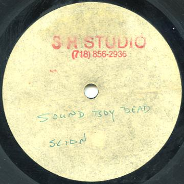 """Scion Success - Done Dead A Ready (Dub Plate 10"""" (Sm Studio))"""