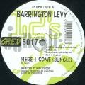 Barrington Levy - Here I Come (Jungle) (Greensleeves UK)