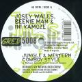 Josey Wales, Beenie Man, Ini Kamoze - Jungle & Western Cowboy Style (Greensleeves UK)