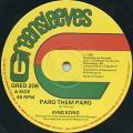 King Kong - Paro Them Paro (Greensleeves UK)