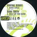 General Degree; Saba Tooth - Good Girls; Hold Up You Hand (Greensleeves UK)