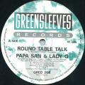 Papa San, Lady G - Round Table Talk (Greensleeves UK)