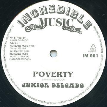 ReggaeCollector com - Junior Delgado - Poverty (Incredible