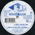Horace Andy - Seek & You Will Find (Blakamix UK)