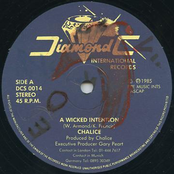 Chalice - A Wicked Intention (Diamond C International EU)