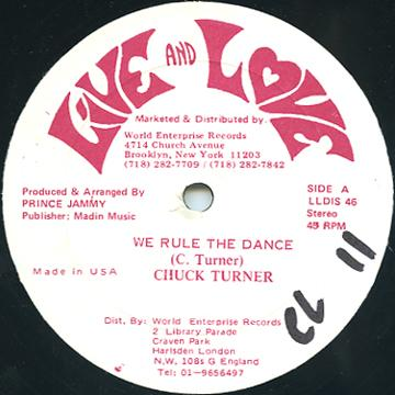 Chuck Turner - We Rule The Dance (Live & Love US)