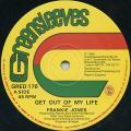 Frankie Jones - Get Out Of My Life (Greensleeves UK)