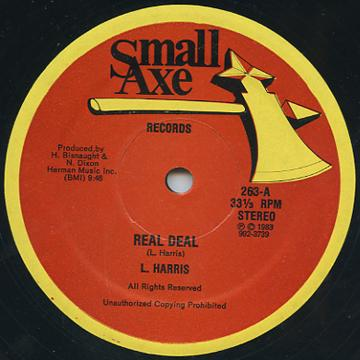 L Harris - Real Deal (Small Axe (33rpm))