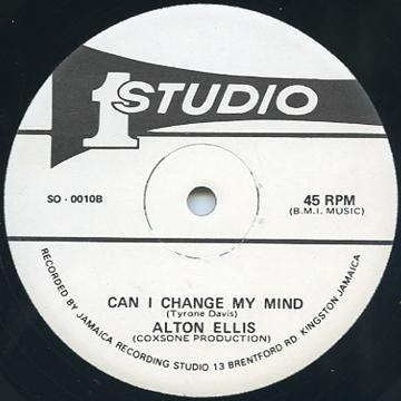 Alton Ellis - Can I Change My Mind (Studio One US)