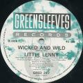 Little Lenny - Wicked And Wild (Greensleeves UK)