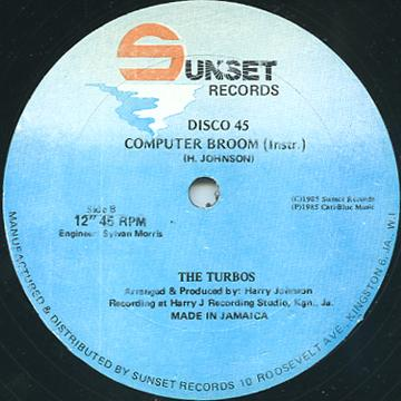 Turbos - Computer Broom (Inst) (Sun Set)