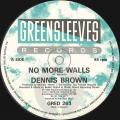 Dennis Brown - No More Walls (Greensleeves UK)