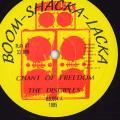 Disciples - Chant Of Freedom (Boom Shacka Lacka UK (33rpm))